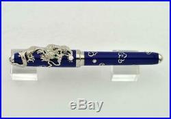 Rare Cartier Exceptional Prestige Dragon Decor Fountain Pen 18k Gold Nib Le888
