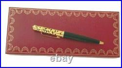 Rare Cartier Mini Diabolo Tiger Paws Fountain Pen 18 K M Gold Nib