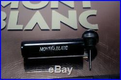 Rare MONTBLANC SIMPLO n° 6 -SAFETY filler-Black Hard Rubber-gold nib EF