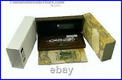 Rare Montblanc Andrew Carnegie Patron Of Arts Le 4810 Fountain Pen 2002