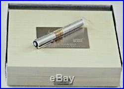 Rare Montblanc Mahatma Ghandi Great Characters Le 241 Fountain Pen 18k Gold