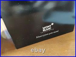 Rare Montblanc Meisterstuck 146 LeGrand fountain Pen Stand /desk stand New