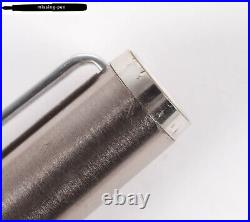 Rare Montblanc Noblesse Cartridges Fountain Pen in Silver with B-nib