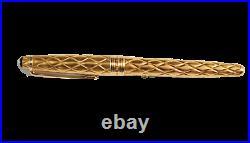 Rare Montblanc True Princess Peridot Le Artisan Edition Fountain Pen