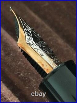 Rare Montblanc meisterstuck 149 14C Extra Fine nib fountain pen 1970S