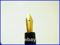 Rare NOS Merz & Krell PELIKAN 120 Pistonfiller Fountain Pen EF Nib G2