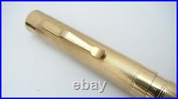 Rare Nib! Wahl Pen, Gold Filled, Colonial, Semi Flex, Falcon 14k Fine Nib