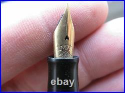 Rare! Omas Extra Lady Fountain Pen Vintage 1930s Collectible 14k Gold Nib