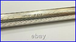 Rare! Onoto The Pen, Sterling, Long Model, 14k Firm Nib, 1920, Unrestored