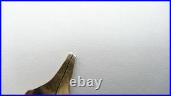 Rare! Parker Slender Vacumatic, Nib Only, Canada, Firm 14k Oblique Broad