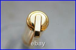 Rare S. T. DUPONT GATSBY Black/Gold Fountain pen 18K M nib NEW Boxed