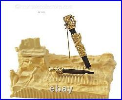 Rare Unique Michel Audiard Eve And Snake Sculpture Fountain Pen Collectors