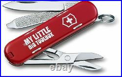 Rare Victorinox Swiss Army Classic SD 2014 Limited Edition My Little Big Toolbox