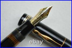 Rare Vintage 1940s Montblanc Masterpiece L139 Fountain Pen 14C OB OBBB Flex Nib
