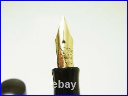 Rare Vintage WATERMAN´s 12 PSF Hard Rubber Fountain Pen FLEXY M Nib