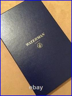 Rare Vintage Waterman Man 200 Green Wood Ballpoint Pen-new Old Stock-mint
