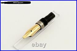 Rare gold plated Pelikan M150 / M200 / M400 / M600 Italic Nib (1.5 mm / 2.0 mm)