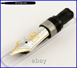 Rare & new Pelikan M800 / M805 18 K / 750 Italic B (IB) gold nib