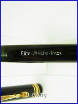 Rare restored ELITE-MEISTERKLASSE fountain pen semi flex 14ct OM nib