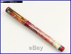 Rare vintage Waterman FORUM Fountain Pen Expression Red from 1993 with F nib