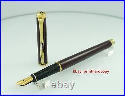 Red Blue Green Pelikan P381 Classic Fountain Pen 14K nib M Nice Rare