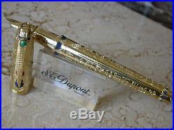 St Dupont Pharaoh Fountain Pen Mint, Rare