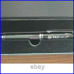 TAG Heuer Ballpoint Pen Novelty Original Box VIP Limited Carbon Tone Black Rare