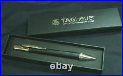 TAG Heuer Watch Genuine Novelty Carbon winding Ballpoint Pen withBox Very Rare F/S