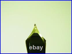 ULTRA RARE German ARISTOKRAT OVERSIZE Fountain Pen Flexy 14ct M Nib F to BBB