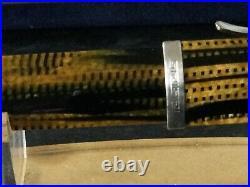 Very Rare OMAS 360 BURKINA Fountain Pen with 18ct Gold Nib