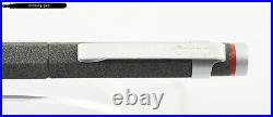 Very rare Rotring Newton Cartridges Fountain Pen in LAVA design with steel M-nib