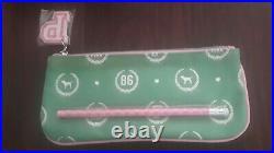 Victorias Secret PINK 86 Rare Green Bag Pen & Eraser Collectors HTF