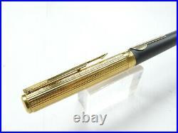 Vintage Parker 95 Fountain Pen Rare Ronald Reagan Barrel Logo Medium Nib New