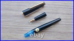 Vintage RARE 1960's Montblanc 32D EF Gold Nib & Montblanc 38 Ballpoint Pen