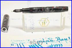 Waterman's 3V RARE J Vintage long tined Flex nib, F to 2.5mm+ celluloid body