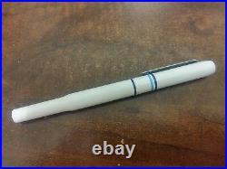 #rare# Parker 25 White Epoxy Fountain Pen #rare#